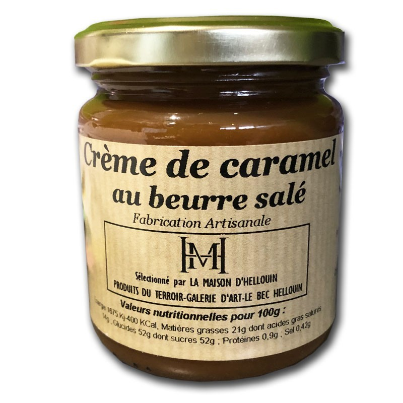 Caramel cream with salted butter - Online French delicatessen