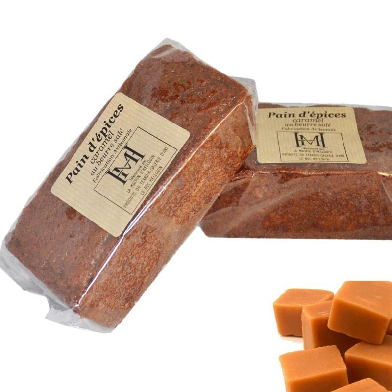 Pan de jengibre con caramelo - delicatessen francés en línea