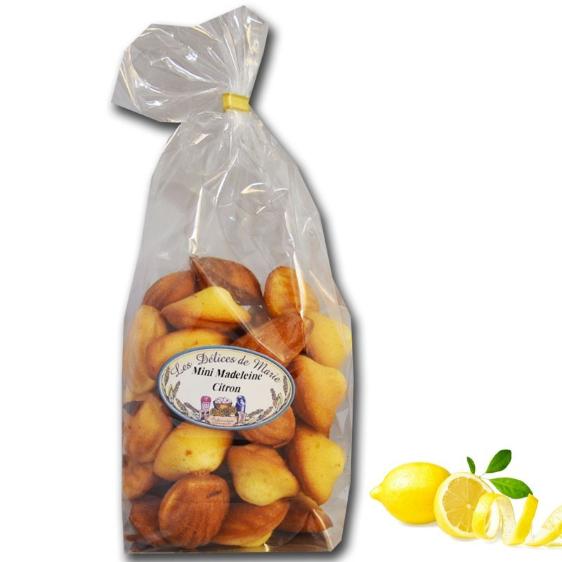 Madeleines al limone - Gastronomia francese online