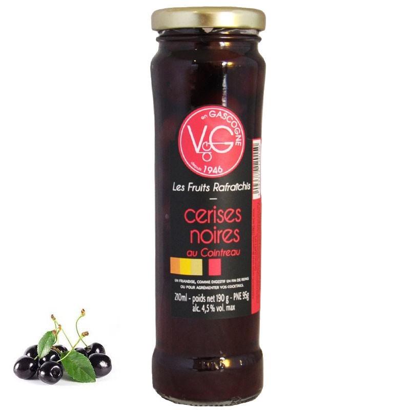 ciliegie nere con cointreau - Gastronomia francese online