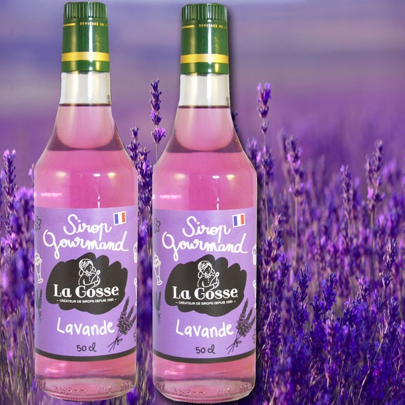 Violetter Sirup - Online französisches Feinkost