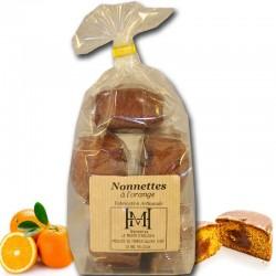 orange-filled nonnettes