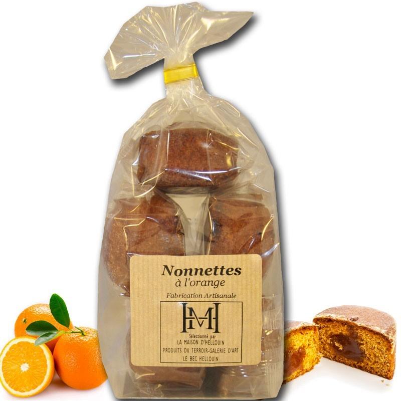 nonnettes fourrées à l'orange - épicerie fine en ligne