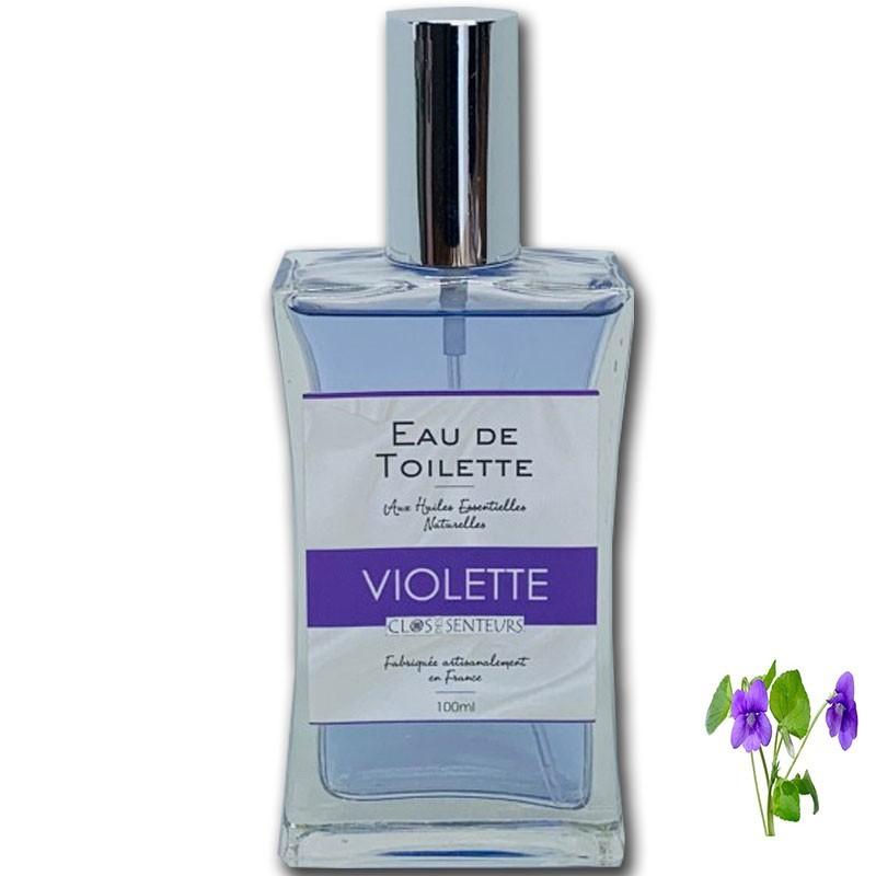 Agua de Toilette con Violeta