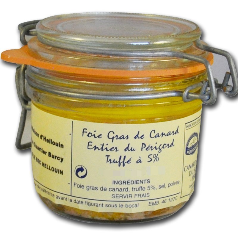 Foie gras d'anatra al Tartufo - Gastronomia francese online