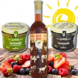 """Gourmet-mandje """"Aperitief van de zomer"""" - Franse delicatessen online"""