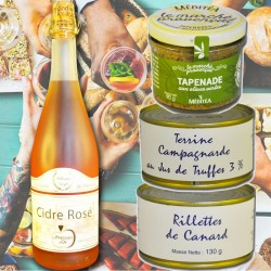"Gourmet set ""aperitif with friends"" - Online French delicatessen"