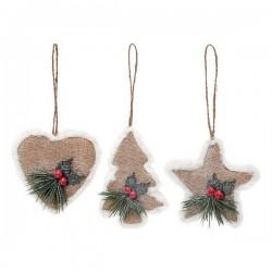 Weihnachtsdekoration Set (3 pcs) 113906