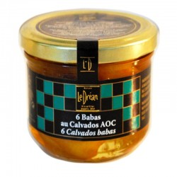 Babas with Calvados - Online French delicatessen