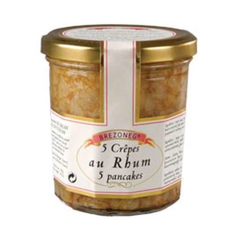 Rum pancakes - Online French delicatessen