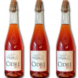3 bottles of Rose Cider - Online French delicatessen