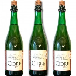 3 bottles of raw cider - Online French delicatessen