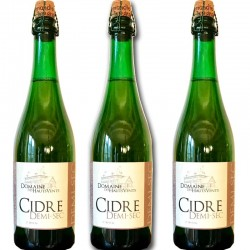 3 semi-dry cider bottles - Online French delicatessen