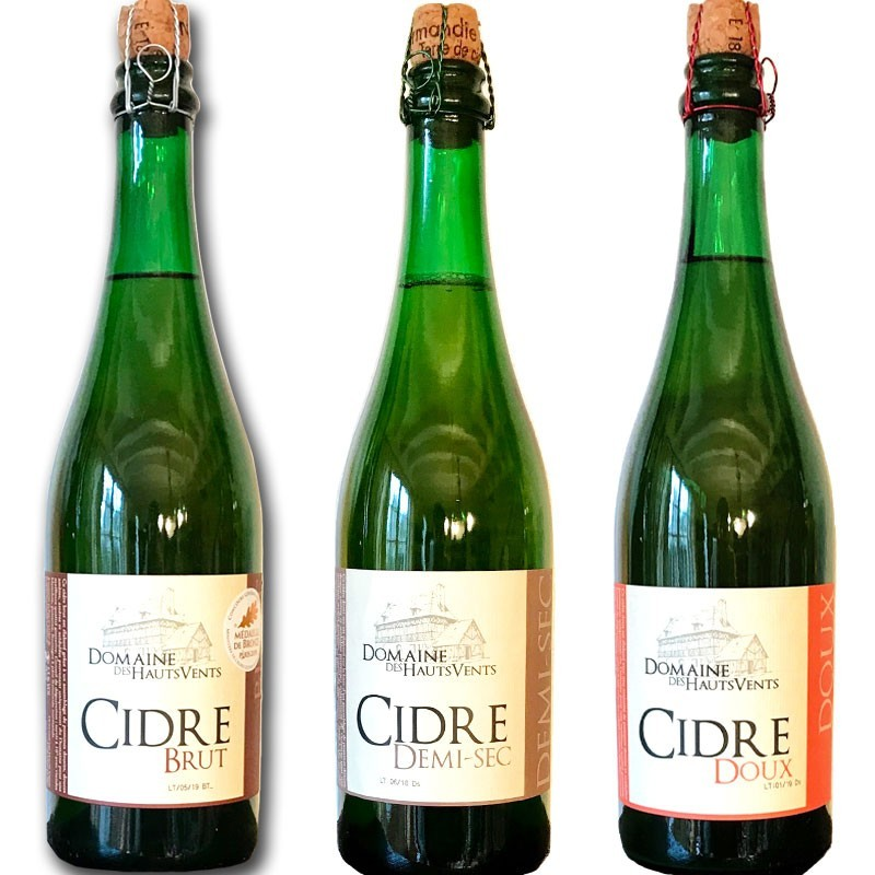 French cider tasting
