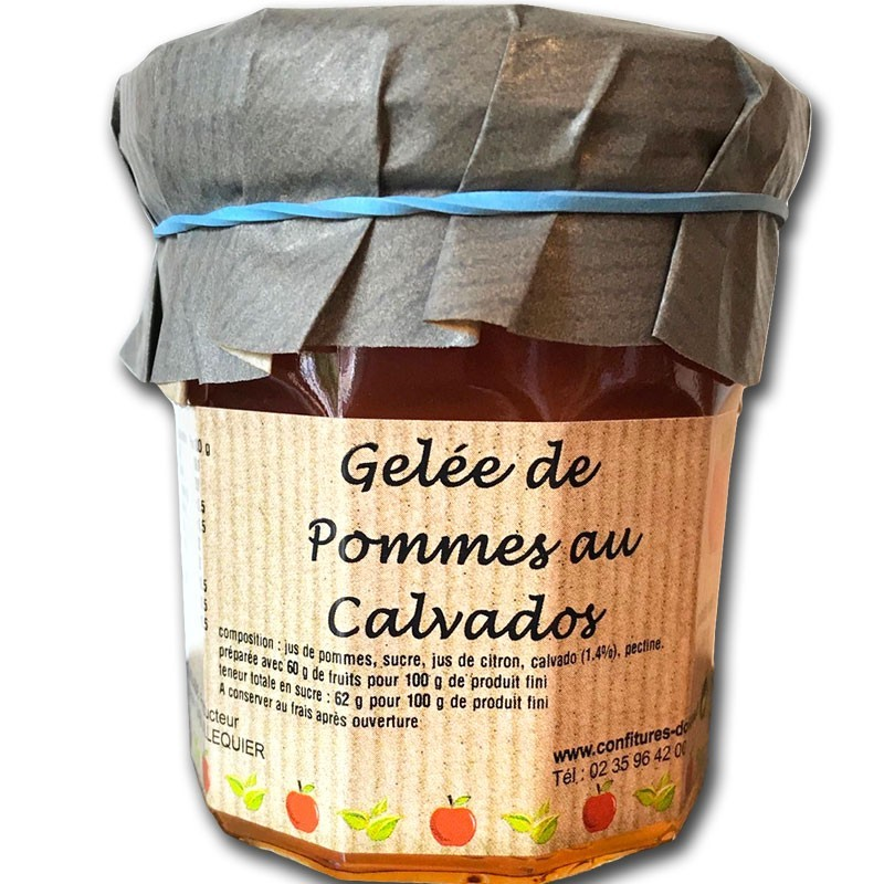 Apple jelly with Calvados - Online French delicatessen