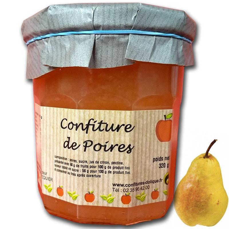 Mermelada de peras - delicatessen francés online