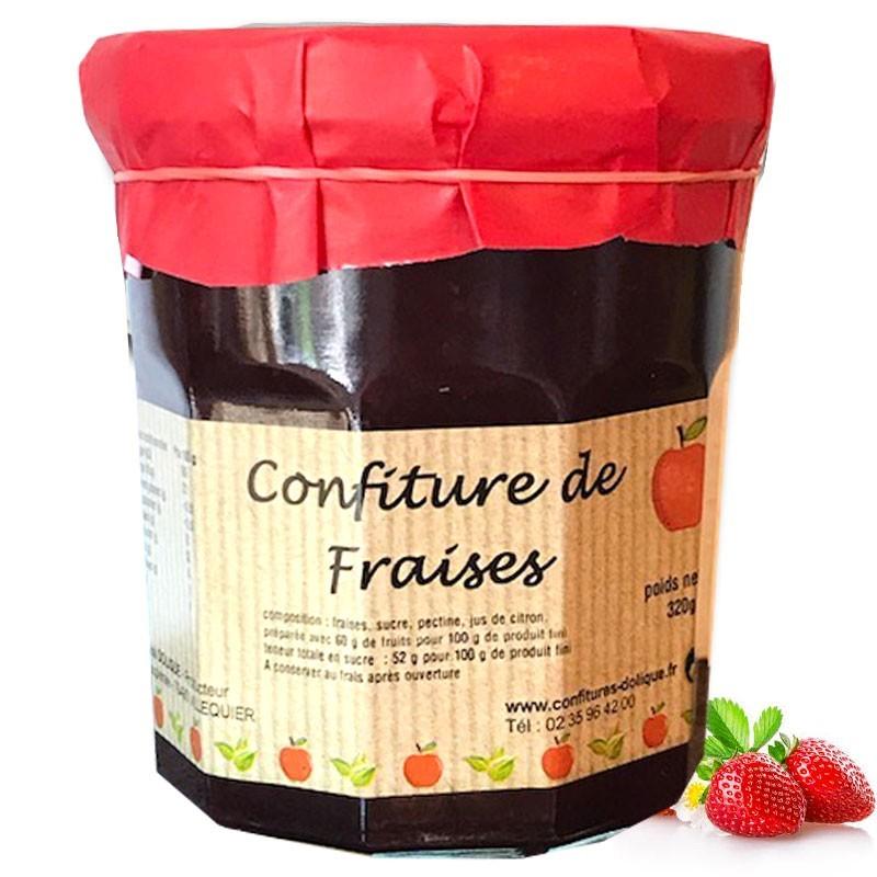 Mermelada de fresa - delicatessen francés online