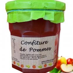 Marmelade von Äpfeln