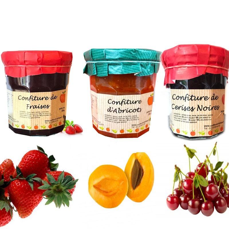 Essentielle französische handwerkliche Marmeladen