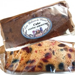 artisan cake with cherries - Online French delicatessen