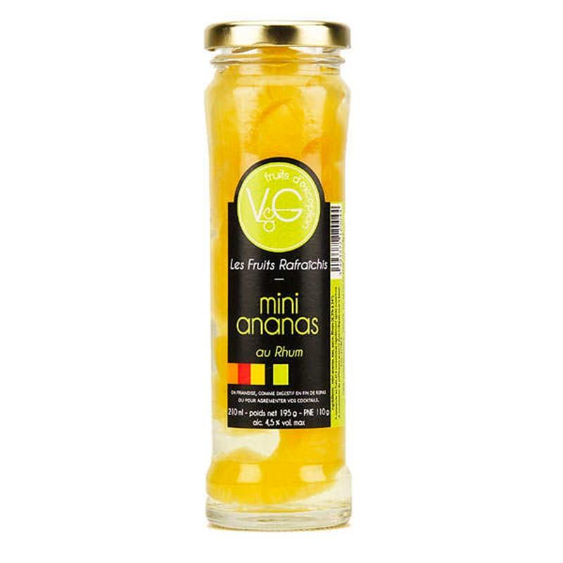 Ananas al rum - Gastronomia francese online