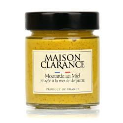 Mostaza pasada de moda con miel - delicatessen francés online