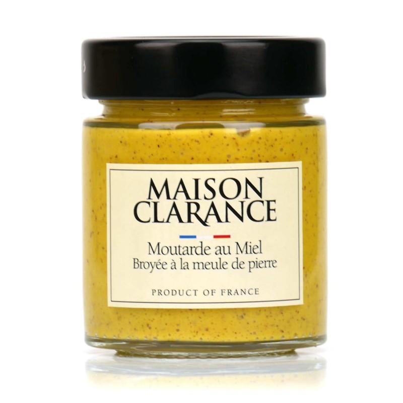 Moutarde à l'ancienne au Miel - épicerie fine en ligne