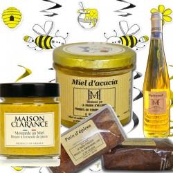 panier gourmand : le miel - épicerie fine en ligne