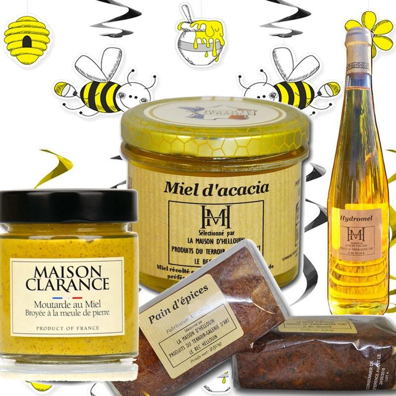 gourmet basket: honey - Online French delicatessen