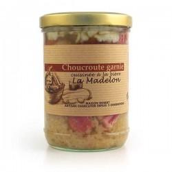 Choucroute artisanale cuisinée - épicerie fine en ligne