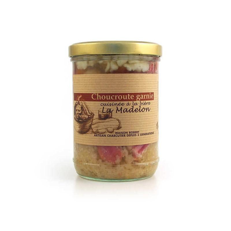 Cooked artisanal sauerkraut - Online French delicatessen
