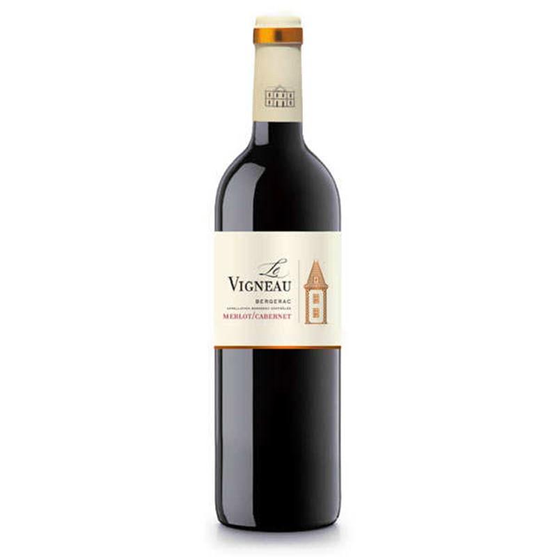 Bergerac rode wijn AOC