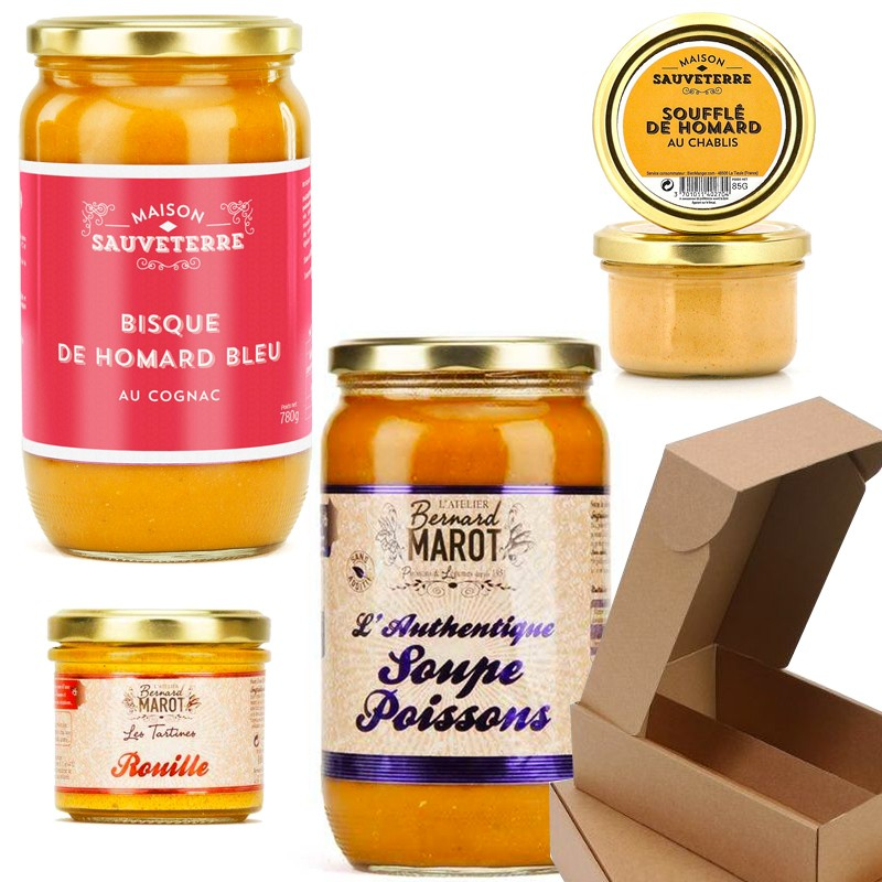 Gourmet box: flavors of the sea - Online French delicatessen
