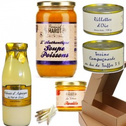 Gourmet box: land and sea - Online French delicatessen