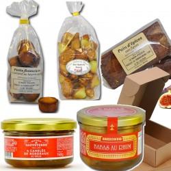 Gourmet basket: gourmet desserts - Online French delicatessen