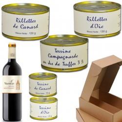 Gourmetkorb: Aufschnitt - Online französisches Feinkost