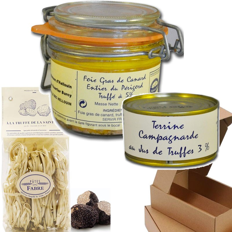 Box gourmet: tartufi  - Gastronomia francese online