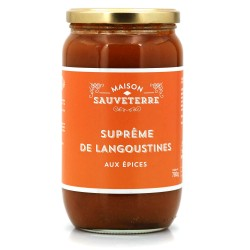 Langoustine soup -  Online French delicatessen