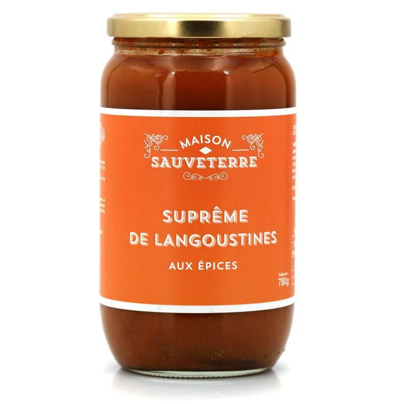 Soupe de langoustines : épicerie fine en ligne