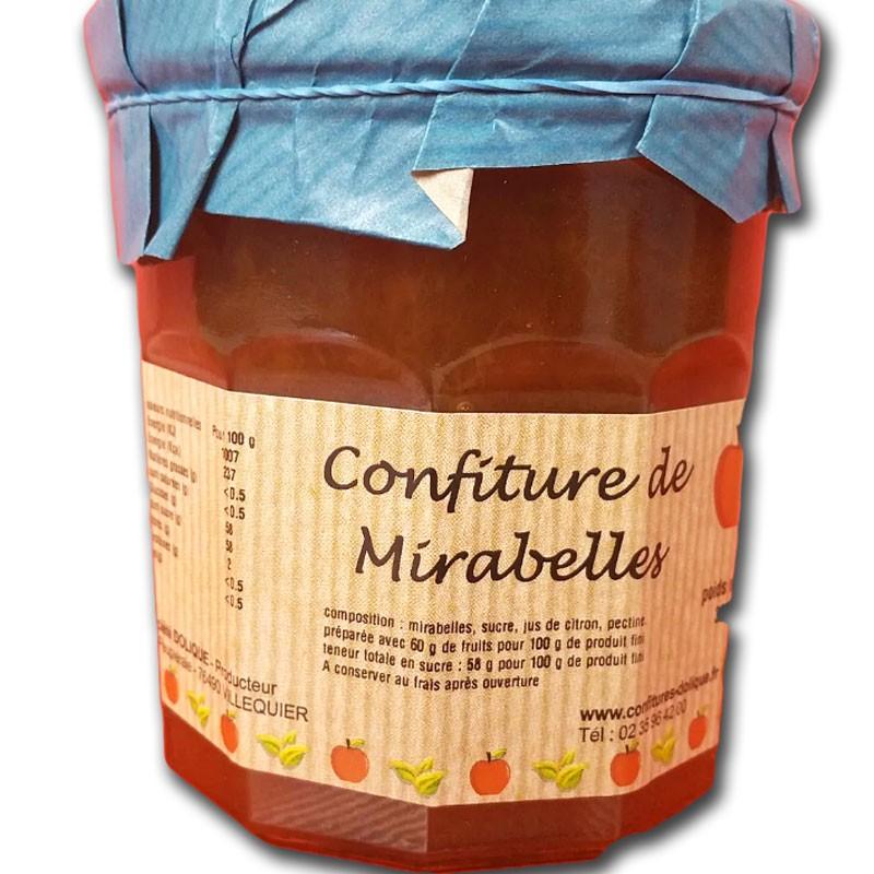 Confiture de Mirabelles - épicerie fine en ligne