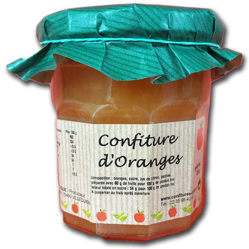 Confiture d'Oranges - épicerie fine en ligne