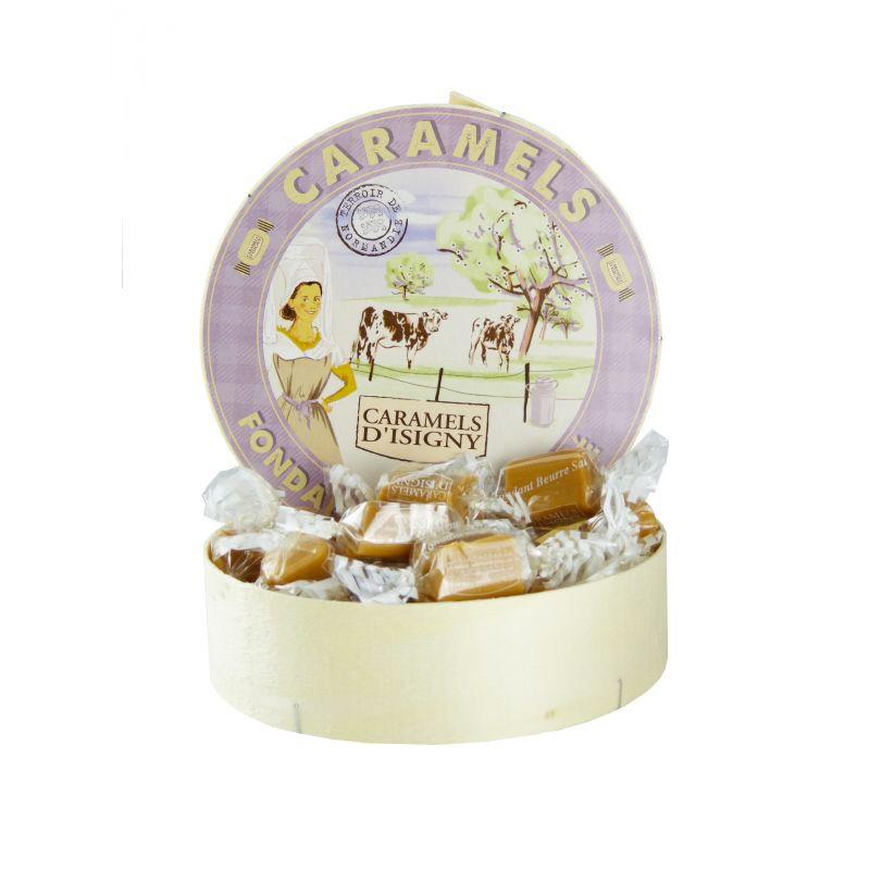 Scatola di caramelle al burro salato fondente - Gastronomia francese online