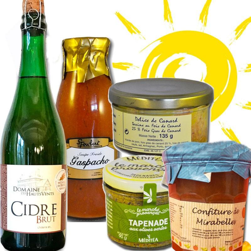 "Gourmet box ""summer"" - Online French delicatessen"