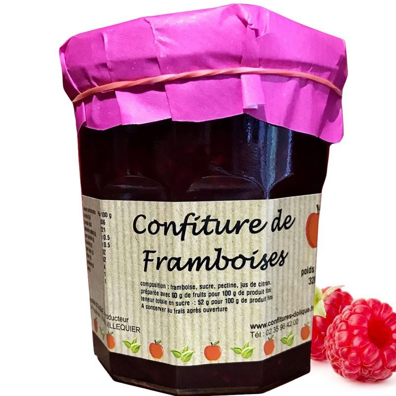 Mermelada de frambuesa - delicatessen francés online