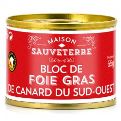Bloc foie gras du sud-ouest...