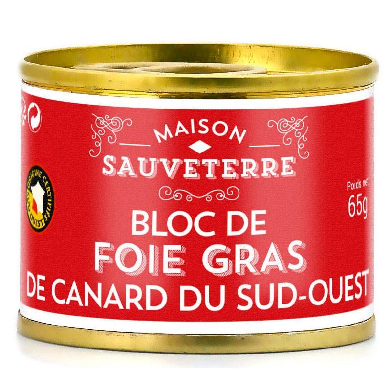 Bloc foie gras du sud-ouest igp: épicerie fine en ligne