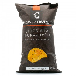 Summer truffle chips (Tuber...