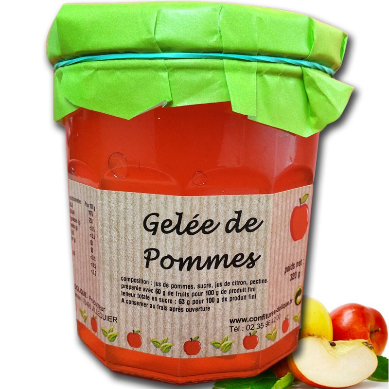 Gelatina di mele - Gastronomia francese online