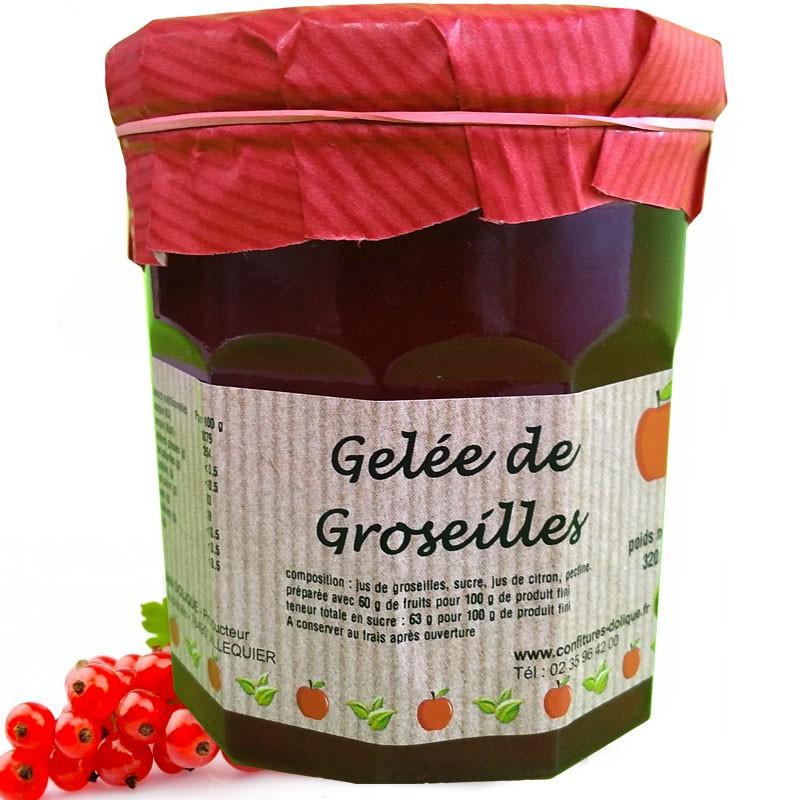 Gelée de Groseilles - épicerie fine en ligne