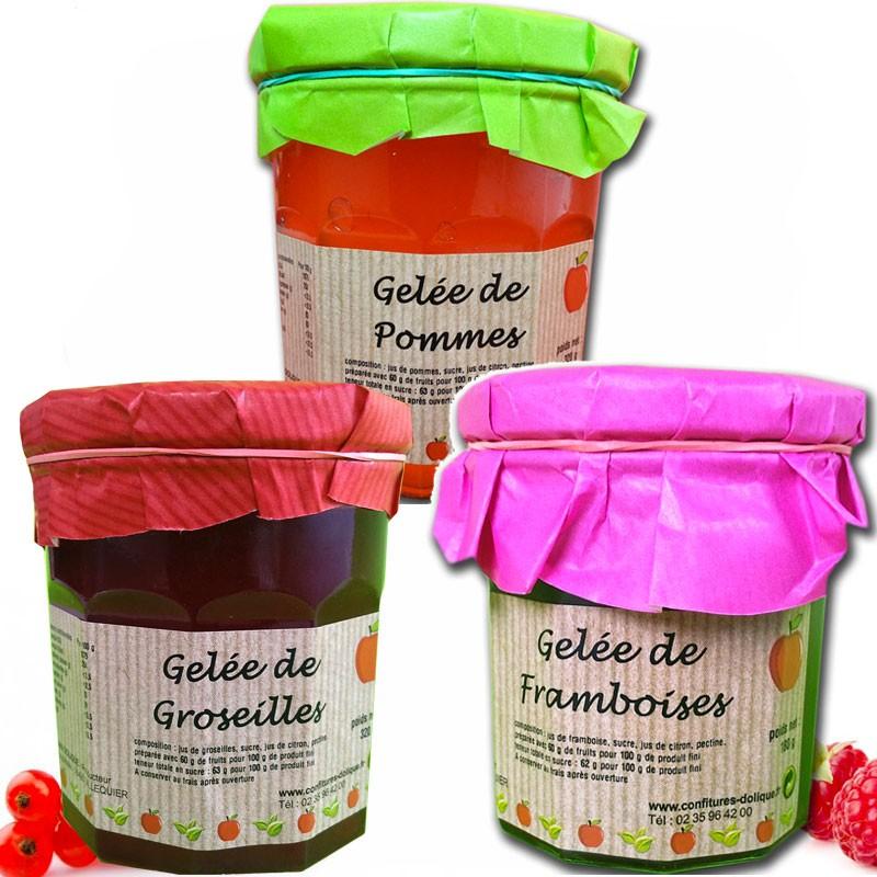 Les authentiques gelées de fruits - épicerie fine en ligne